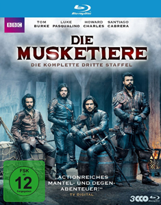 Die Musketiere (Die komplette dritte Staffel)